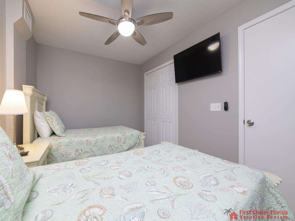 Sea Renity Twin Beds with TV