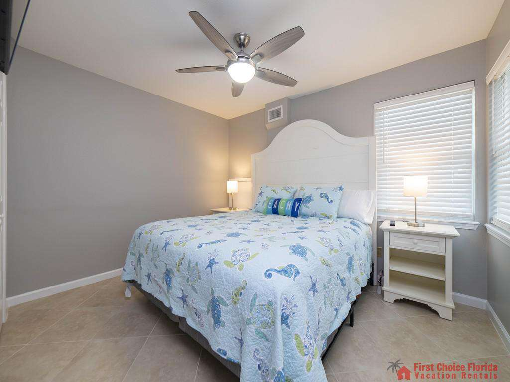 Sea Renity Bed with Fan