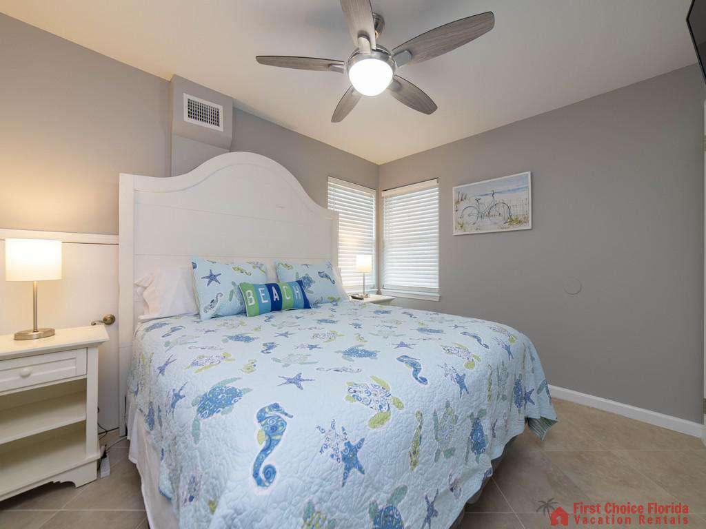 Sea Renity Bed with Light and Fan
