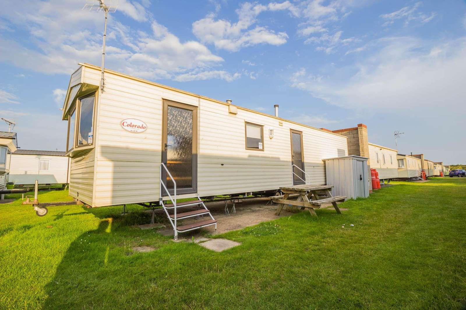 17167P – Pines area, 3 bed, 8 berth caravan. Emerald rated. - property
