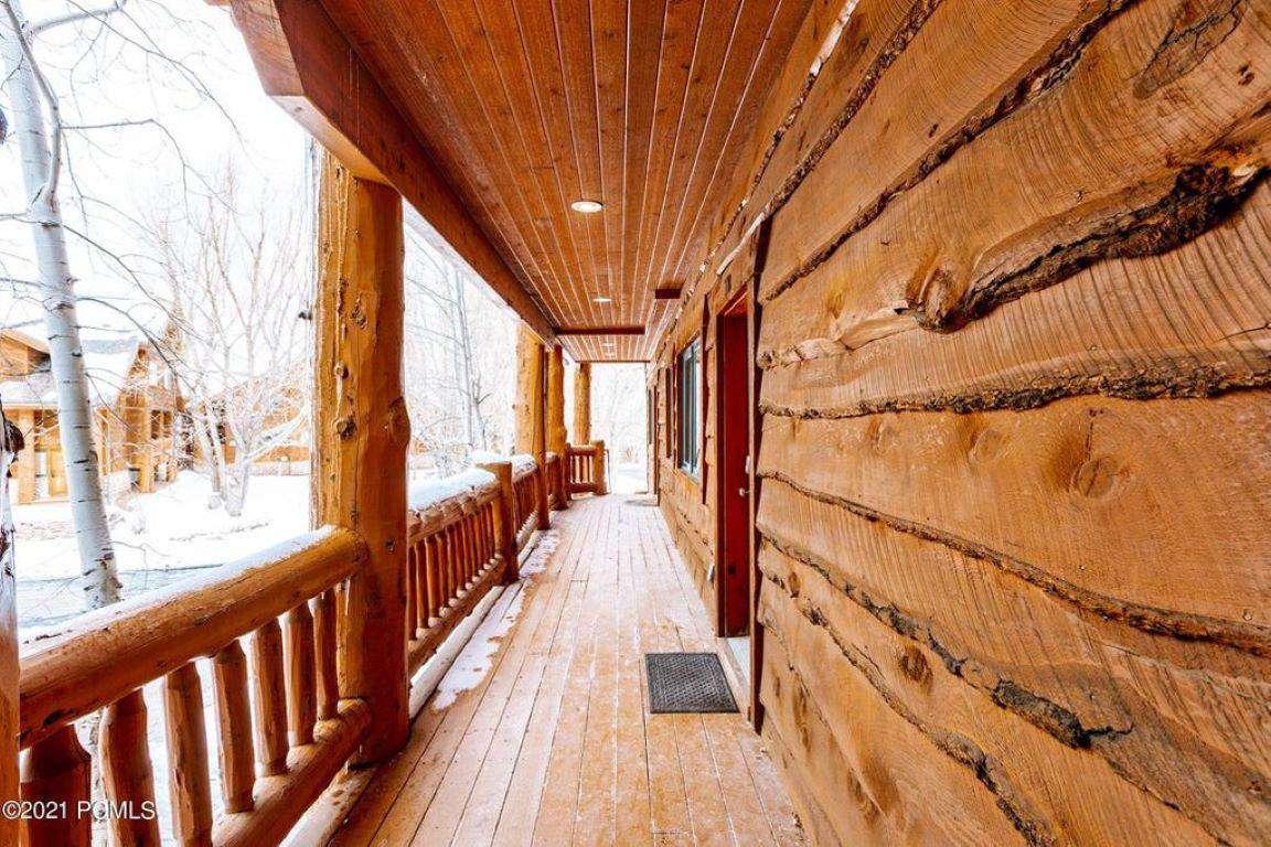Townhome Front Door Deck