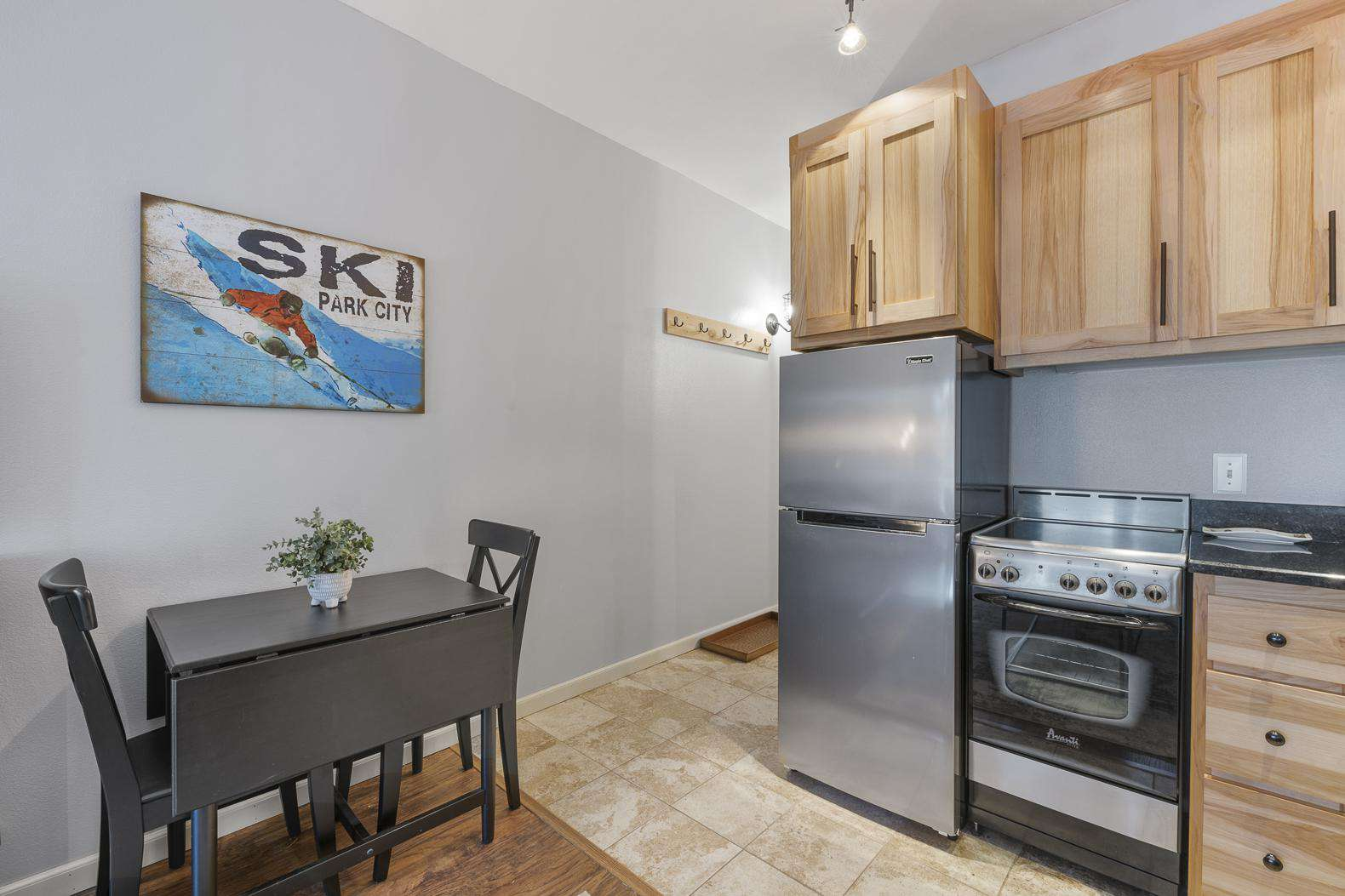 Small Dining Table by Kitchen Area