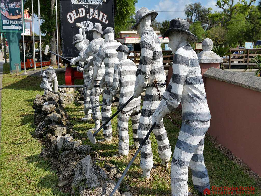 Prisoners at the Old St. Augustine Jail