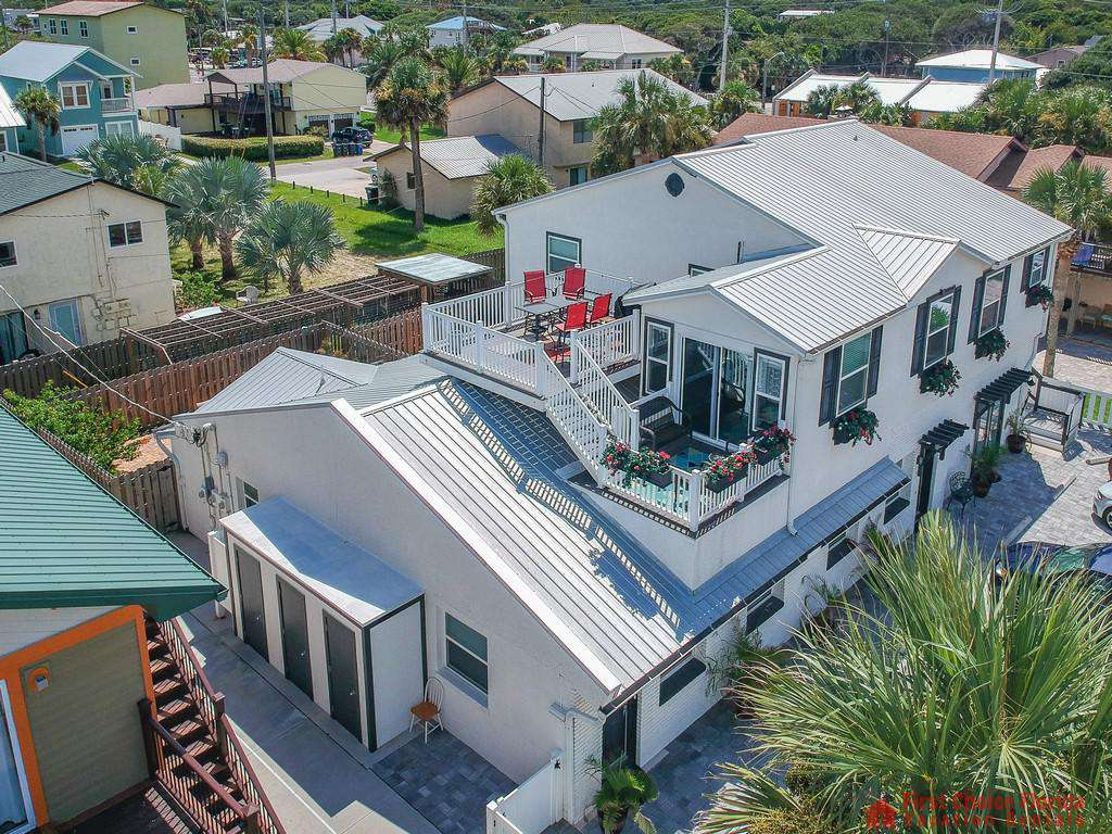 Island Retreat Unit C Home from Aerial
