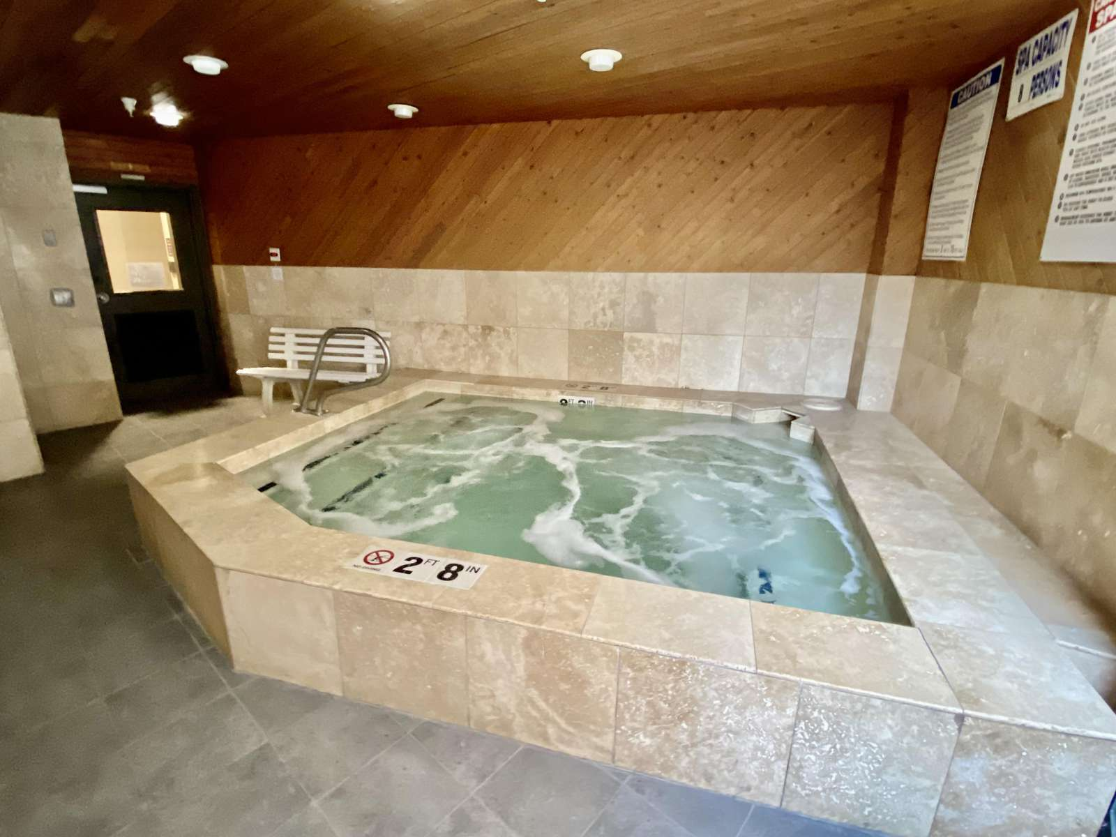 Large Indoor Hot Tub