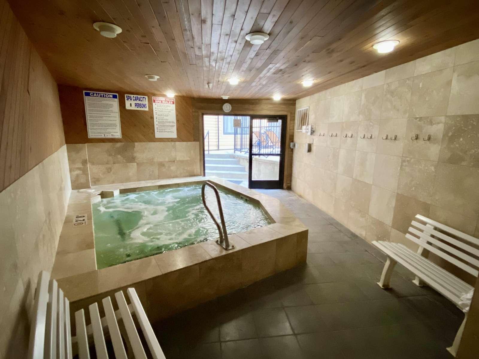 Community Indoor Hot Tub