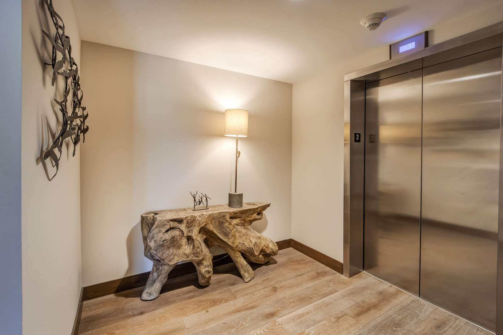 Downstairs Elevator Entry