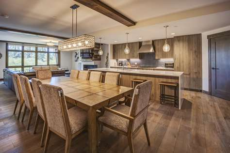 Luxury 6-bedroom/6-bath residence in most desirable location at Tahoe Beach Club