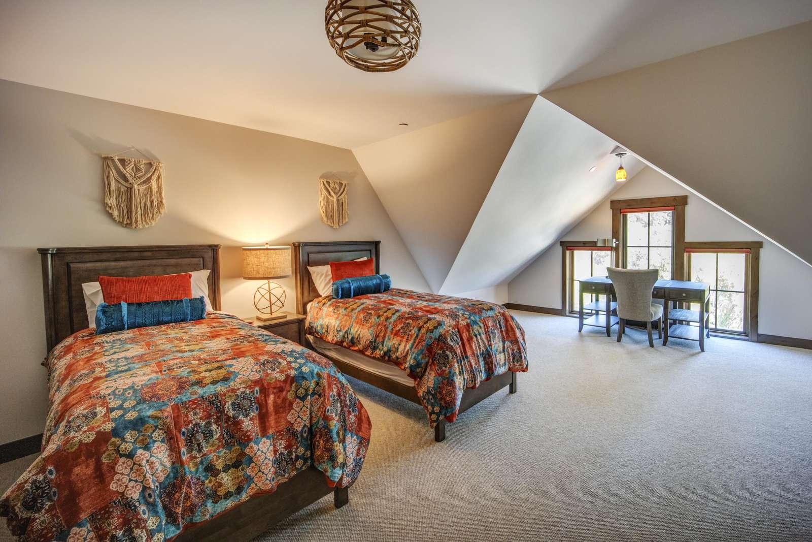 Upstairs Third Bedroom