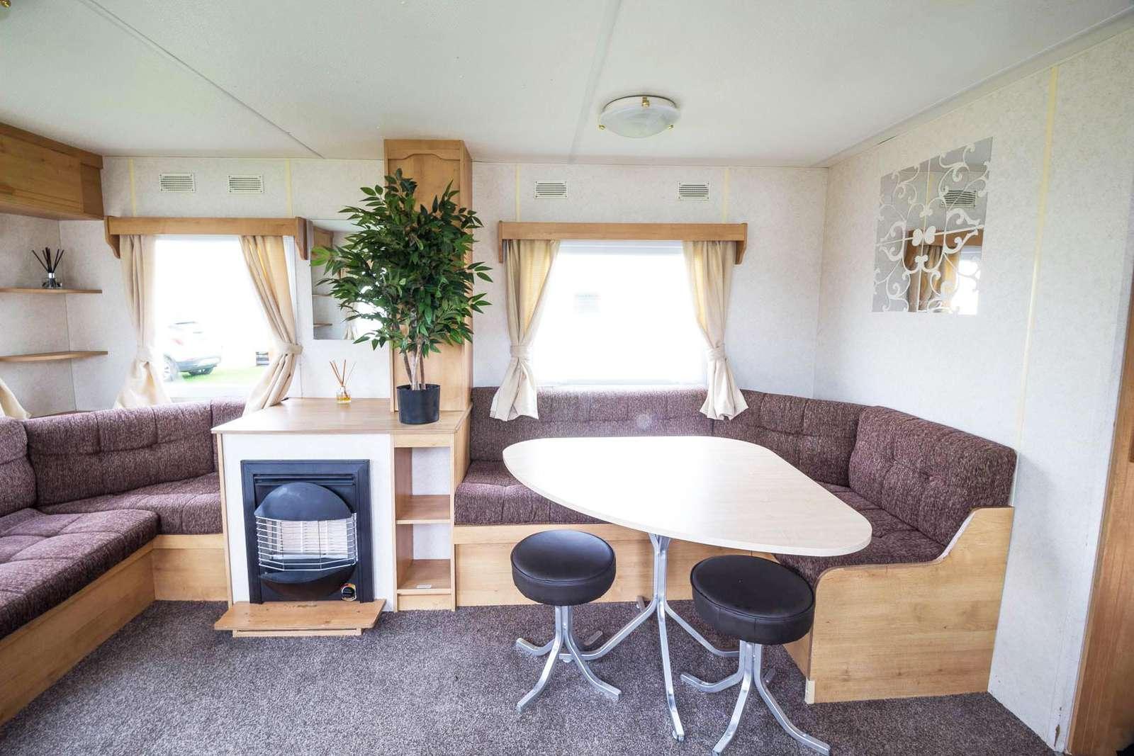 50021F – Fulmar area, 3 bed, 8 berth caravan near amenities. Emerald rated. - property