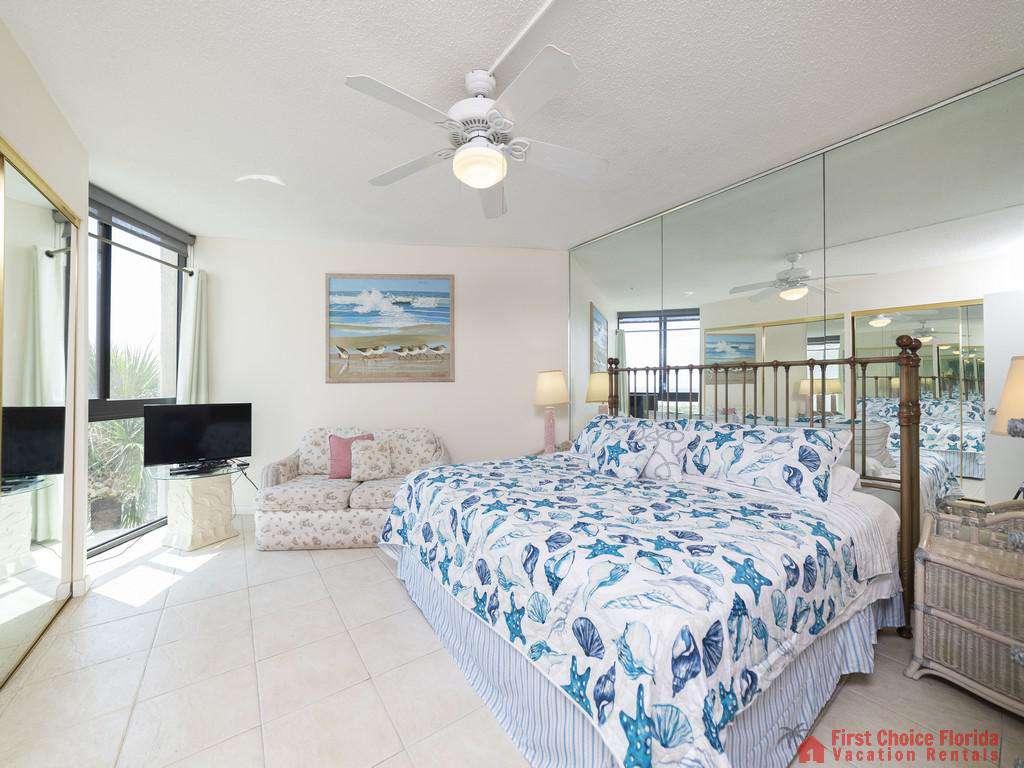 Anastasia Condo Guest Bedroom with TV