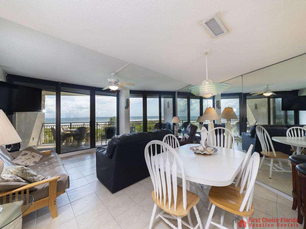 Anastasia Condo - Dining Area/Living Room