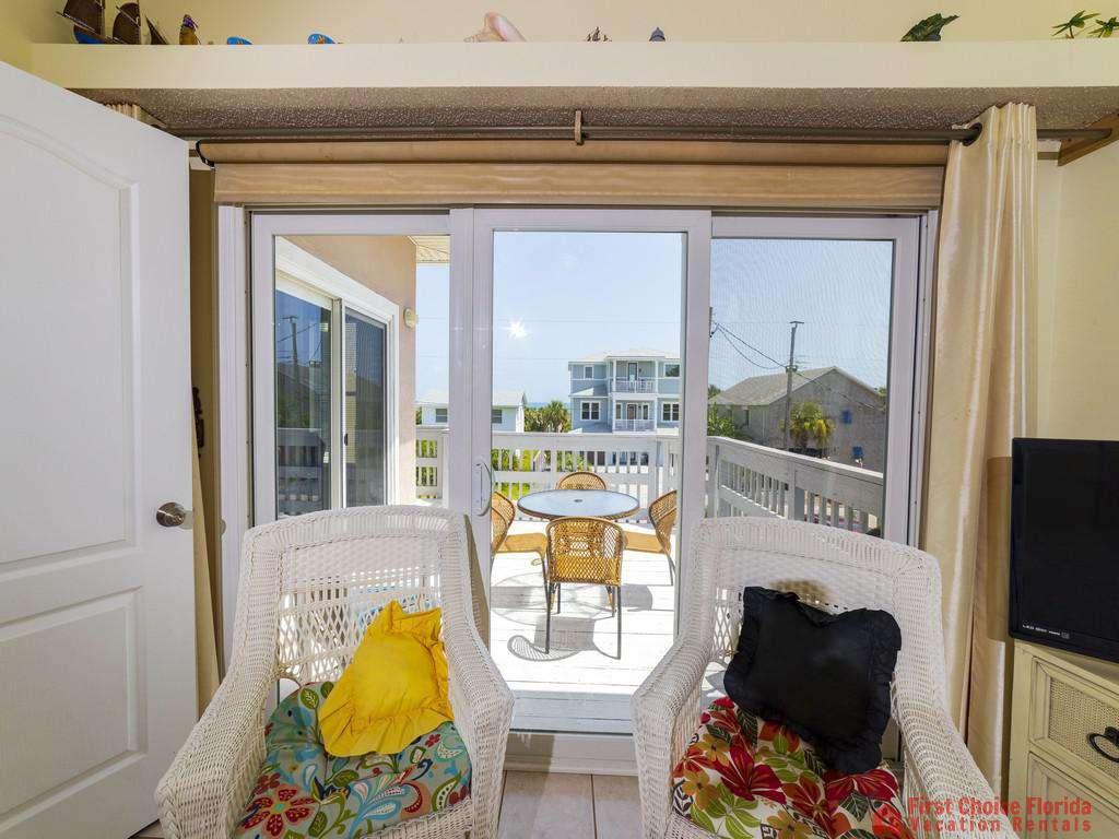 Margarativille Bedroom Balcony View