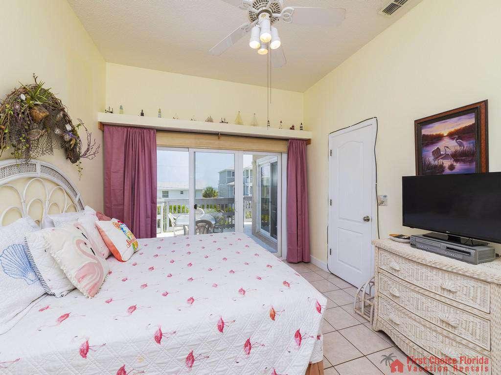 Margarativille Bedroom with TV
