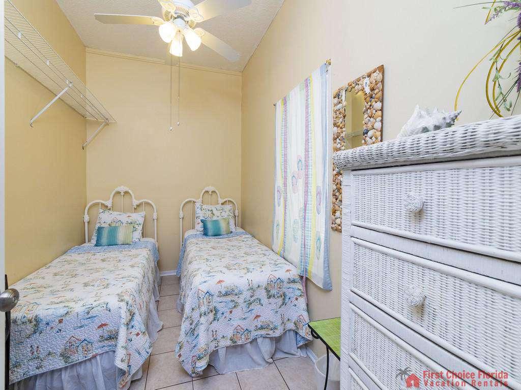 Margarativille Twin Beds with Dresser