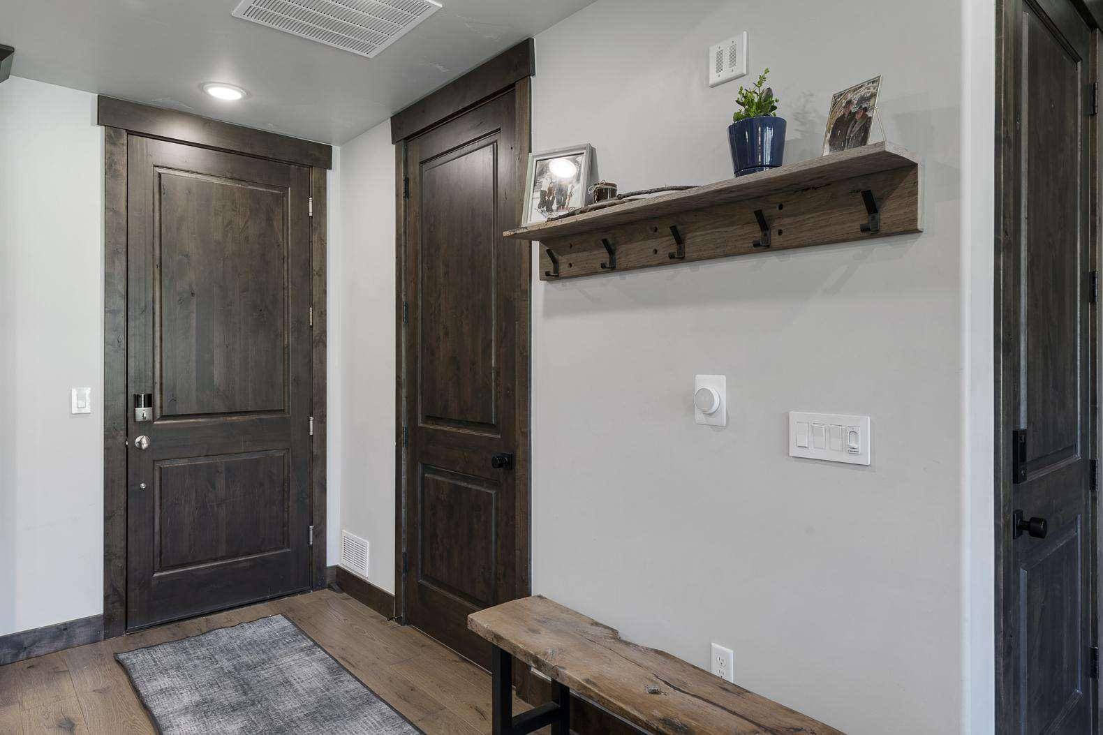 Front Entrance & Half Bathroom/Laundry Room