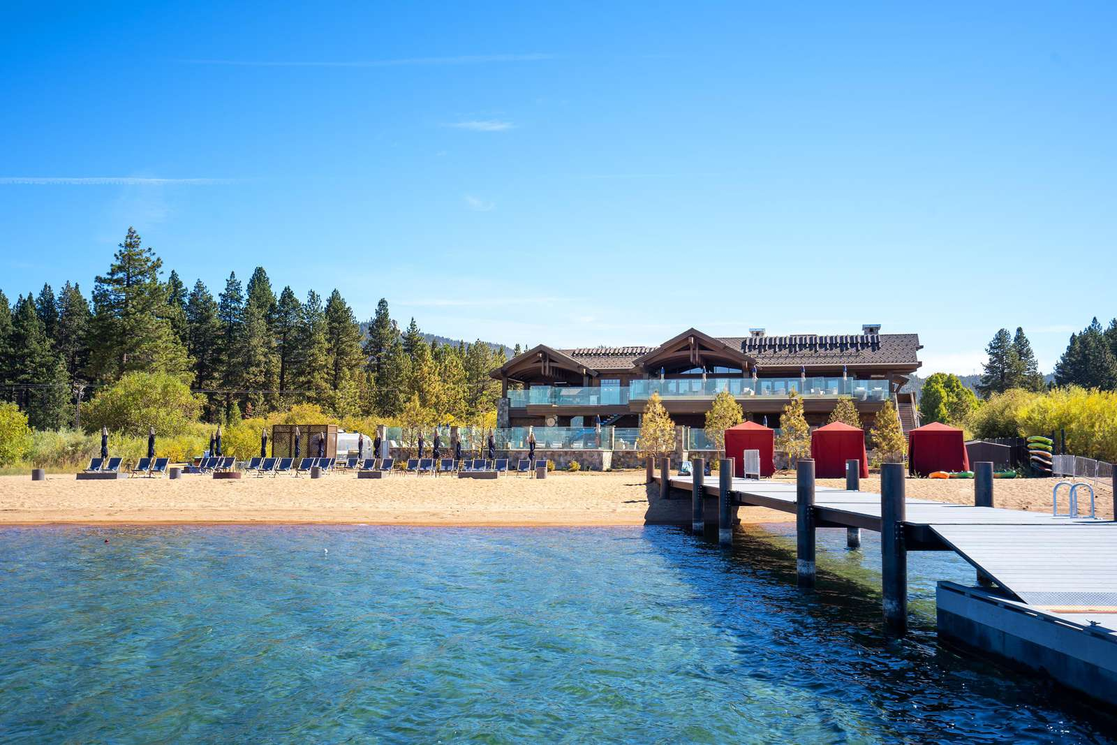 Private Beach and Pier