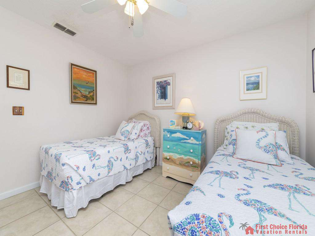 Athena By The Sea Twin Beds