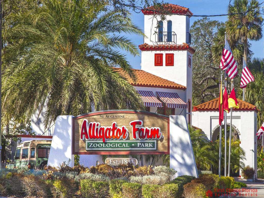 St. Augustine Florida Alligator Farm