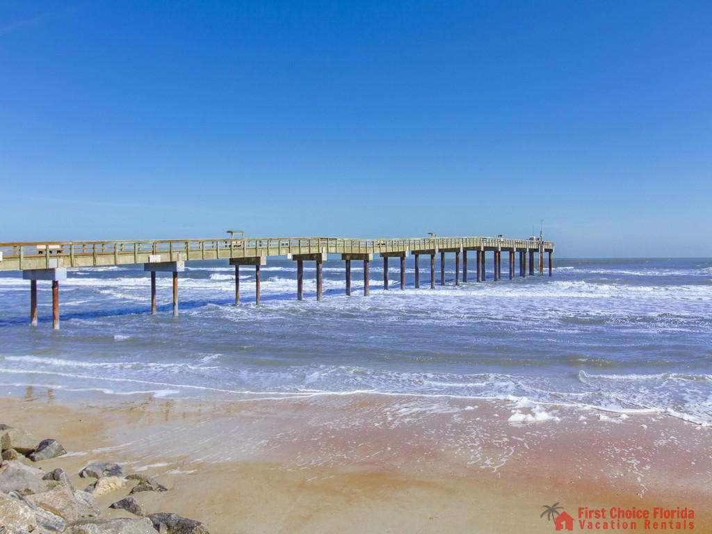 St. Augustine Florida Beach Fishing Pier
