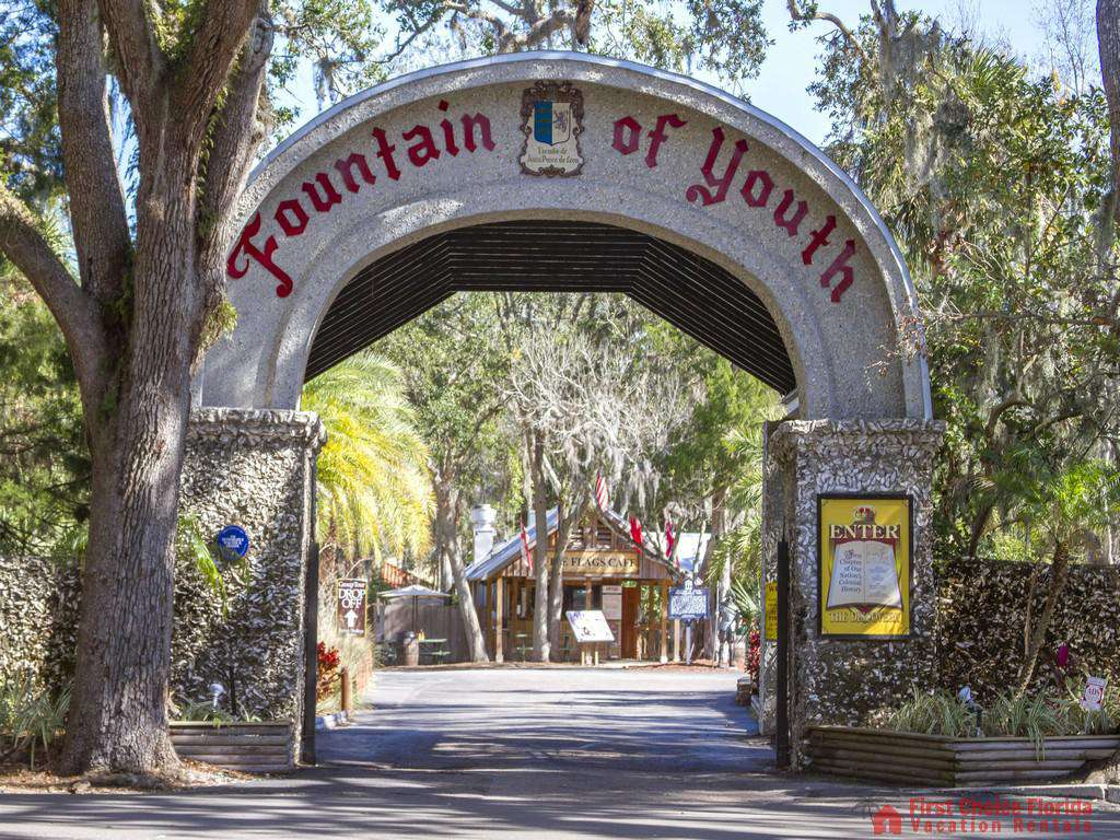 St. Augustine Florida Fountain of Youth