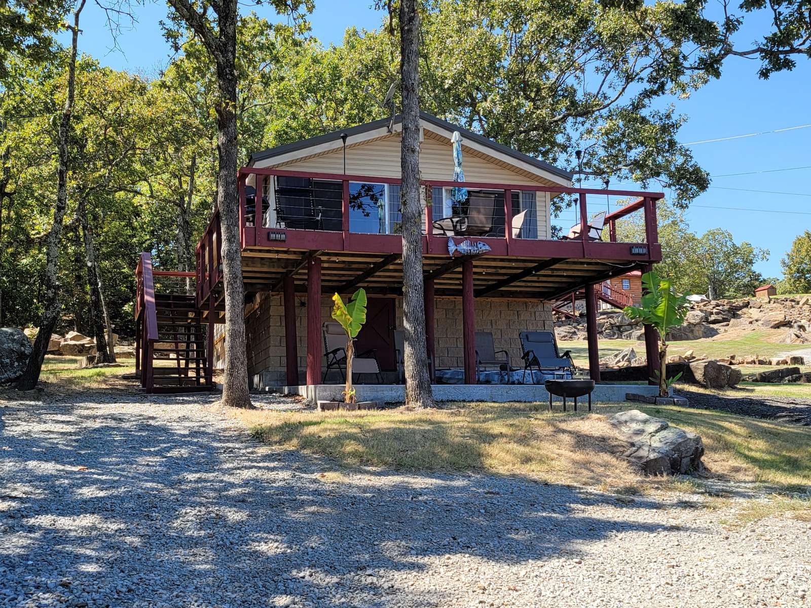"""The """"Little Lodge"""" at Rock Creek Cove - property"""