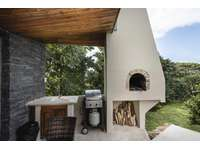 Outdoor kitchen, grill and pizza oven thumb