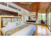 Master bedroom, 2nd level, King bed, access to private balcony with ocean views thumb