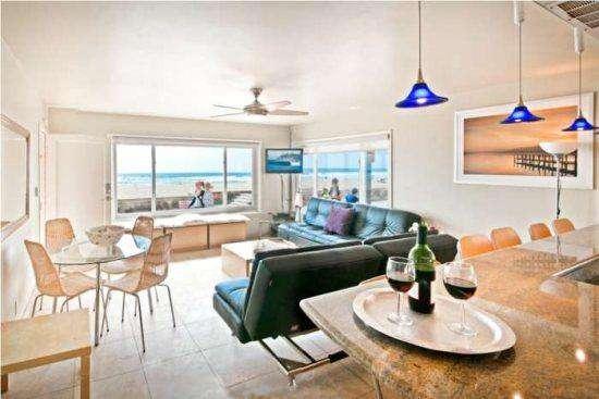 #101 Ocean Front North Mission Beach  Luxury Condo #1